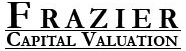 Frazier Capital Valuation provides appraisal services in the disciplines of business valuation, commercial real estate, and equipment.